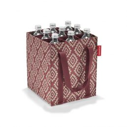 Foldable Bottlebag  for 9 bottles - Diamonds Rouge